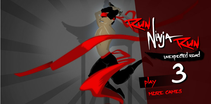 Click to play Run Ninja Run 3